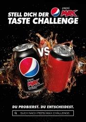Zuckerfreier Genuss: Pepsi Max ruft erneut zur Taste Challenge auf
