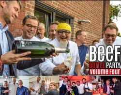 Genuss pur: Fleischhändler Otto Gourmet präsentiert 4. Beef Bottle Party