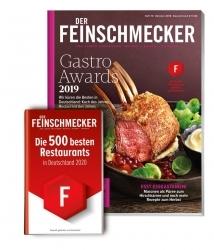 Der Feinschmecker: Magazin kürt erneut die 500 besten Restaurants in Deutschland