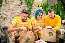 Lieferservice: McDonald's packt Chill-Out-Bekleidung in die Tüte