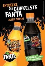 Halloween-Aktion: Coca-Cola präsentiert Fanta Dark Orange