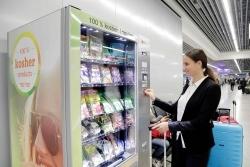 Frankfurt Flughafen: Automat bietet koschere Lebensmittel an