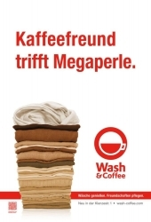Wash&Coffee-Store in München eröffnet