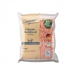 Weniger Plastik. Lidl präsentiert Flowpack-Verpackung für Schweinehackfleisch