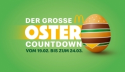 Ei, Ei, Ei:  McDonald's startet traditionellen Ostercountdown