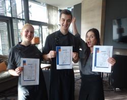 Atrium Hotel Mainz: Auszeichnungen für den Nachwuchs