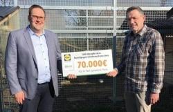 70.000 Euro: Lidl unterstützt den Bund gegen Missbrauch der Tiere