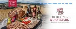 Aktionswoche: 10. Rhöner Wurstmarkt wird virtuell stattfinden