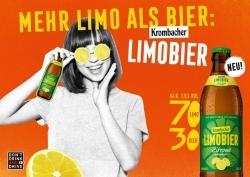Sortimentergänzung: Krombacher präsentiert neues Limobier
