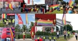 Vielfalt: Coca-Cola hängt die Pride-Flagge hoch