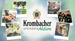 Engagement: Krombacher startet Spendenaktion