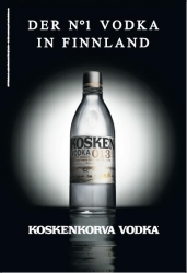 Koskenkorva Vodka: neue Werbekampagne