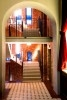 Treppenaufgang zur Empore im Druckwasserwerk Frankfurt