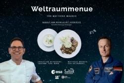 Saarland: Christian Heinsdorf stellt Weltraummenü