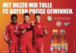 Mezzo Mix: Getränkehersteller erfüllt Träume der FC Bayern Fans