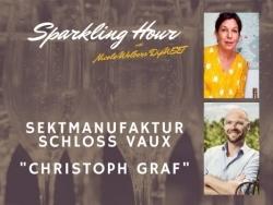Sekt-Talk: Nicole Wolbers hat Schloss Vaux zu Gast