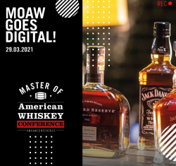 Master of American Whiskey: Brown-Forman veranstaltet digitale Konferenz