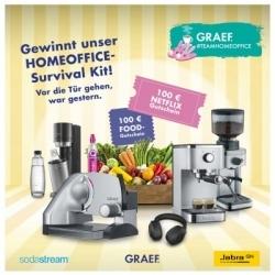 Gewinnspiel: Graef sucht Deutschlands coolstes Homeoffice