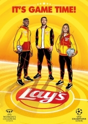 Messi & Co.: Lay's startet Champions League Kampagne