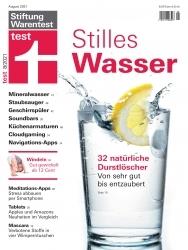 Durstlöscher: Stiftung Warentest untersucht stille Mineralwasserprodukte