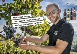 4finest: Start-up veranstaltet virtuelle Sofa-Weinproben