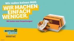 Nachhaltigkeit: McDonald's testet neues Verpackungskonzept