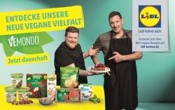 Vegane Eigenmarke: Lidl wirbt mit Ralf Moeller und Timo Franke