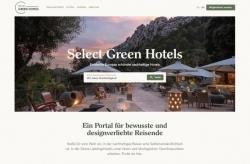 Buchungsportal: Select Green Hotels setzt auf Design und Nachhaltigkeit