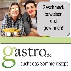 Das Gastronomieportal Gastro.de sucht das Sommerrezept 2010