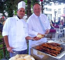 Barbecue-Serie Grill&Chill im Hamburg Marriott Hotel