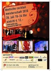 Deutsche Cocktailmeisterschaft in Köln