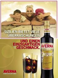 Averna: neue Werbekampagne und Auszeichnungen