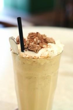 Eiskaffee ist eine Kalorienbombe