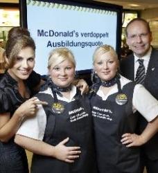 McDonald's erhöht Ausbildungsquote