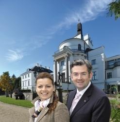 Manuela und Armin Hoeck jetzt im Schlosshotel Burg Schlitz