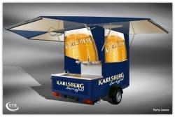 CTR Fahrzeuge und Karlsberg Brauerei kooperieren