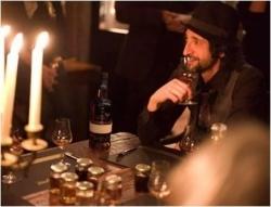 Ron Zacapa-Tasting mit Adrien Brody