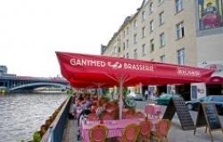 Brasserie Ganymed mit eigener Krustentierkarte