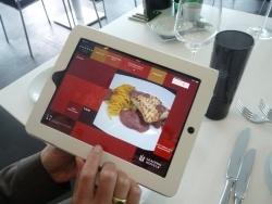 iPad-Speisekarte mit Live-Übertragung in die Küche