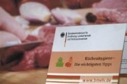 Bundesverbraucherministerium gibt Tipps zur Küchen- und Lebensmittel-Hygiene